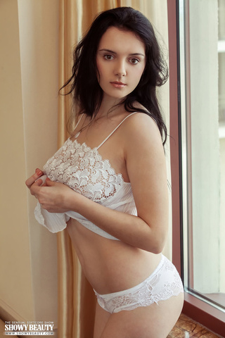 steaming hot chick white