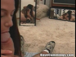Nurse uniform brunette gets throat-fucked on her knees - XXXonXXX - Pic 11