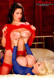 red and blue lesbians