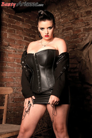 dirty brunette domme latex