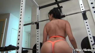orange top panties sporty