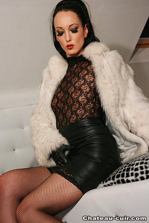 Cum covered fur