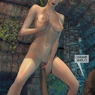 Blonde getting violently penetrated by - BDSM Art Collection - Pic 1