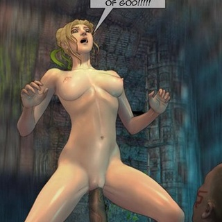 Blonde getting violently penetrated by - BDSM Art Collection - Pic 2