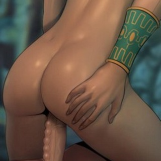 Mayan sex priestess shoves her pearls - BDSM Art Collection - Pic 4