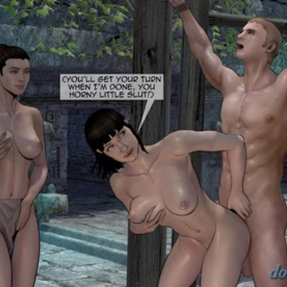 Mayans raping all of the expedition in - BDSM Art Collection - Pic 3
