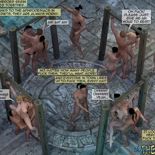 Mayans raping all of the expedition in - BDSM Art Collection - Pic 4