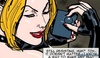 Busty leather-clad dominatrix torturing her blonde slave.Prison Horror