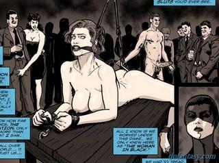 2 slaves sluts tied up in rough punishment and bondage bdsm 2