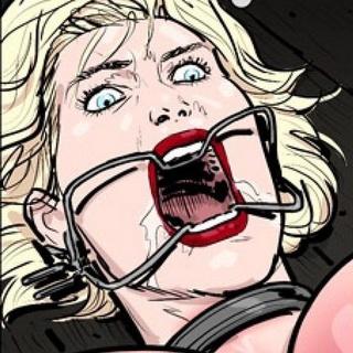 Brunette facesitting her blonde torture - BDSM Art Collection - Pic 1