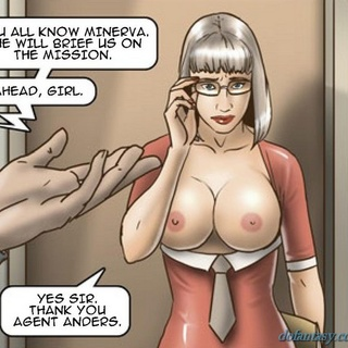 Futuristic fucking with a busty - BDSM Art Collection - Pic 2
