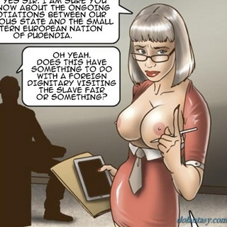 Futuristic fucking with a busty - BDSM Art Collection - Pic 4