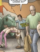 Girls getting raped by tentacles, snaked and presumably sharks.Slave Fair