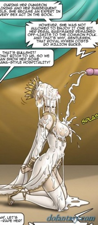 busty blonde queen slave