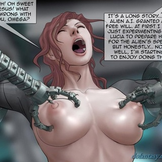 Mechanical claws almost ripping her - BDSM Art Collection - Pic 2