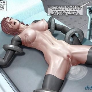 Redhead gets raped even more violently - BDSM Art Collection - Pic 4