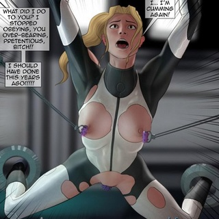 Helpless blonde gets tortured and raped - BDSM Art Collection - Pic 1