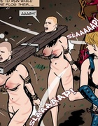 Bald-headed slaves continuously whipped and tortured.The Hotties Next