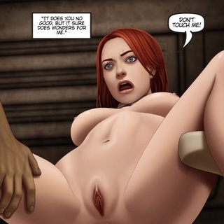 Black guy sees how this redhead slut - BDSM Art Collection - Pic 1