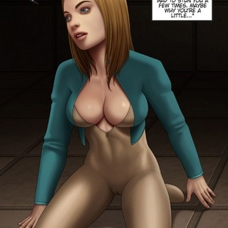 Clone-like chicks talking to each other - BDSM Art Collection - Pic 3