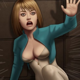 Busty space blonde kicking the shit - BDSM Art Collection - Pic 2