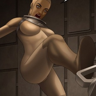 Busty babe tries to hack the mainframe - BDSM Art Collection - Pic 3