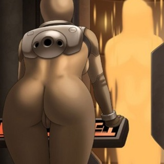 Busty babe tries to hack the mainframe - BDSM Art Collection - Pic 4