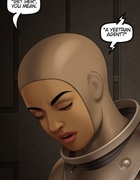 Spacesuit spacewoman checks out that hot naked body.The Proto Part 1 By