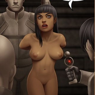 Tanned brunette with bangs tortured by - BDSM Art Collection - Pic 1