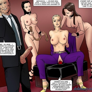 Purple pants blonde gets fucked by a - BDSM Art Collection - Pic 3