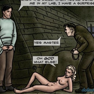 Blonde left crying and helpless on the - BDSM Art Collection - Pic 2