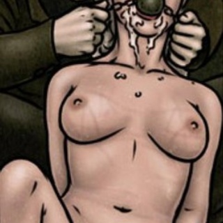 Blonde left crying and helpless on the - BDSM Art Collection - Pic 3