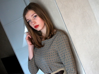 white teen with brown