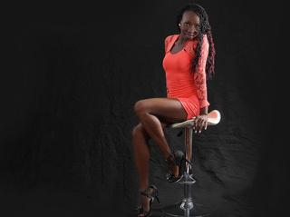 ebony girl snapshot black