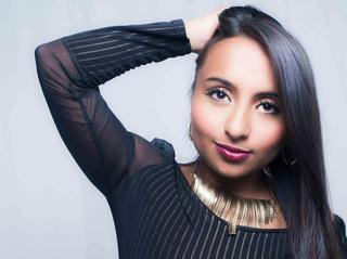 latin teen brown hair
