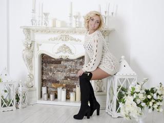 white milf with blonde