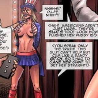 Dolled-up slave blonde gets tortured in - BDSM Art Collection - Pic 2