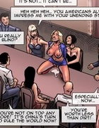 Buxom blonde fist-fucked on a huge conference table. A Tale Of Chinese