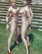 Slaves getting their nipples tied together, it's brutal. Brutal Earl Part