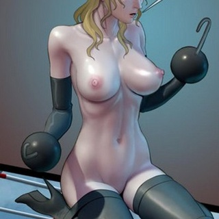 Bizarre climbing torture devised by a - BDSM Art Collection - Pic 2