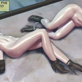 Busty girls almost drown by it's really - BDSM Art Collection - Pic 3