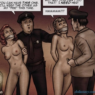 Slave auction featuring some hick and a - BDSM Art Collection - Pic 2