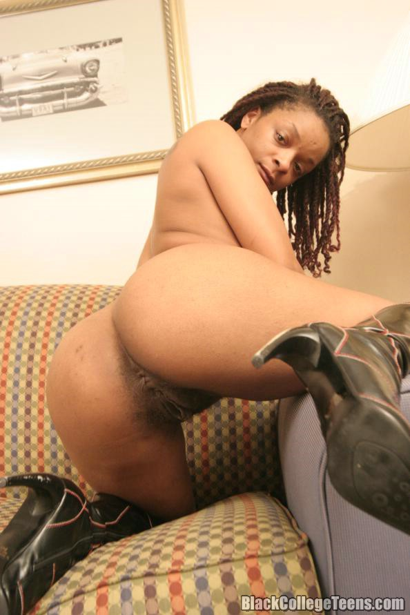 Ebony Girl Rides White Dick