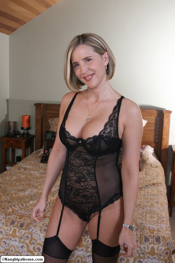 Busty blonde housewife nude #11