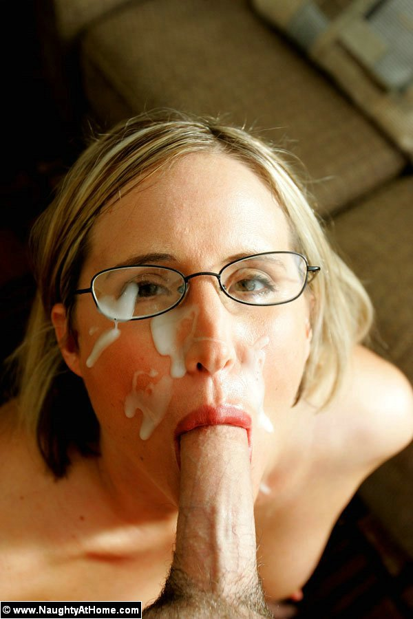 At home blowjob