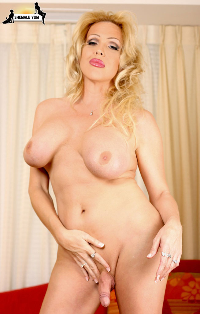 Blonde milf dessert picture