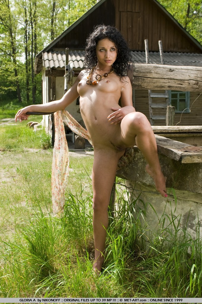 Tags: Black hair, exotic beauty, outdoors,  - XXX Dessert - Picture 1