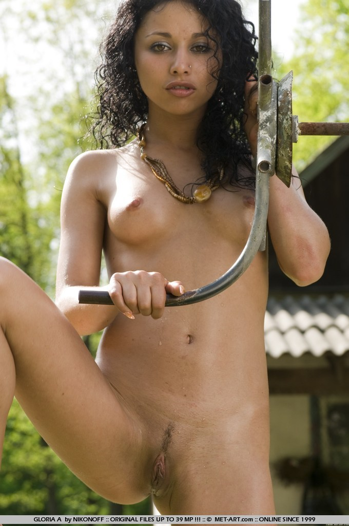 Tags: Black hair, exotic beauty, outdoors,  - XXX Dessert - Picture 7