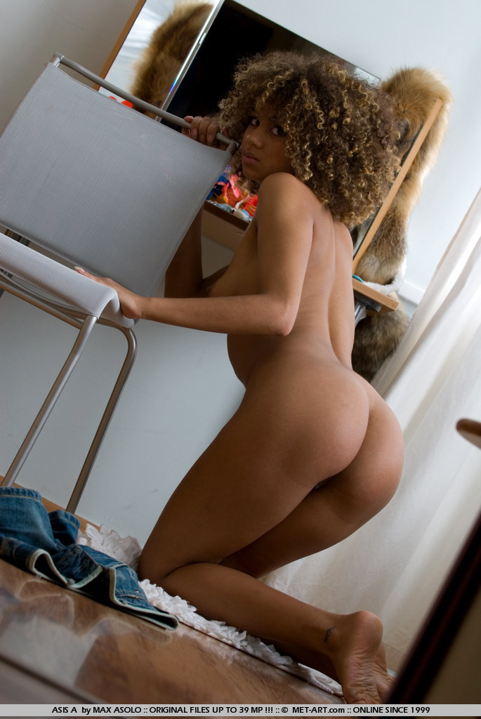 Black girls bent over naked