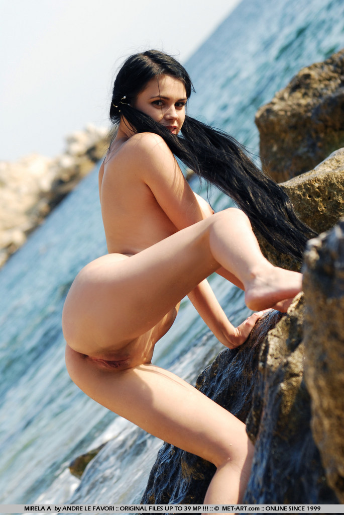 Think, black hair on the nude beach think